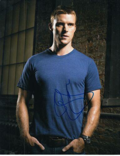 JESSE SPENCER signed (CHICAGO FIRE) TV SHOW 8X10 photo *Matthew Casey* W/COA #13