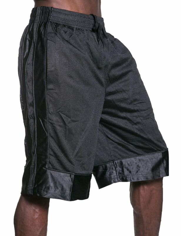 Mens Heavy Mesh Basketball Shorts