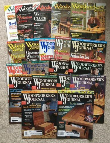 Lot 20 1990s 1994-1999 Woodworker