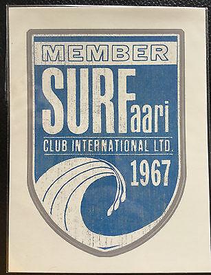 Surfaari 1967 Hawaii sticker