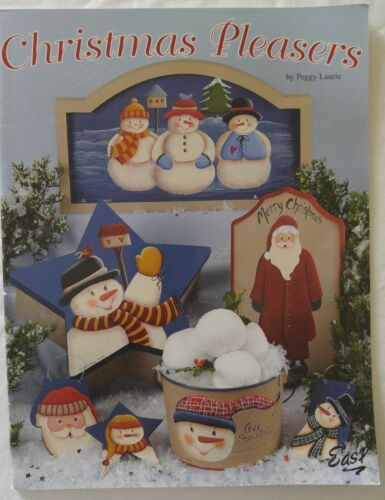 Easl CHRISTMAS PLEASERS Decorative Painting Pattern Book by Peggy Laurie