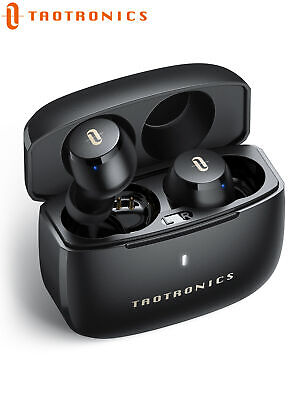 TaoTronics Wireless Earphones in-Ear with AptX Stereo Bass Touch Control Earbuds