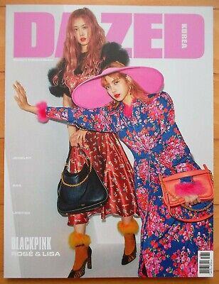 BLACK PINK ROSE & LISA, SUZY---whole magazine/Dazed Korea/2018 Tracking