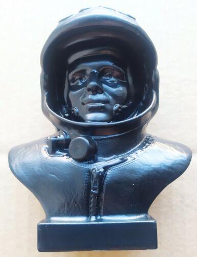 Pilot-cosmonaut Yuri Gagarin. Cast iron bust.