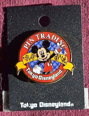 Disney TOKYO DISNEYLAND MICKEY PIN TRADING PIN - Retired Pins