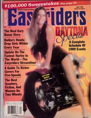 Easyriders Motorcycle Magazine APRIL 1989 APR