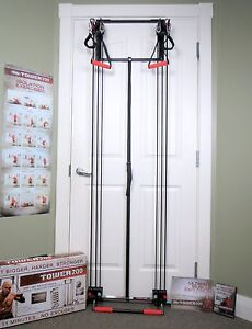 BODY BY JAKE TOWER 200 Full Fitness Home Gym +Straight Bar+Workout DVD NEW BOXED