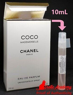 CHANEL COCO MADEMOISELLE WOMEN'S EAU DE PERFUM EDP PERFUME TRAVEL SIZE 10mL