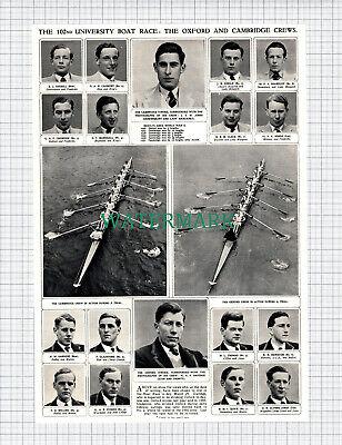 X900) Oxford Cambridge Boat Race Coghill Davidge Keniston Clack -1952 Clip