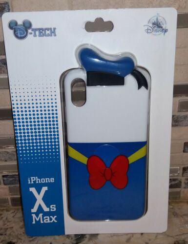 DISNEY PARKS D-TECH DONALD DUCK 3D iPHONE CASE Xs MAX ~ NEW