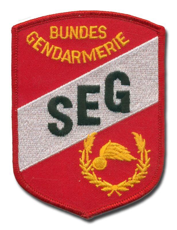 Austrian Police Bundes Gendarmerie SEG patch