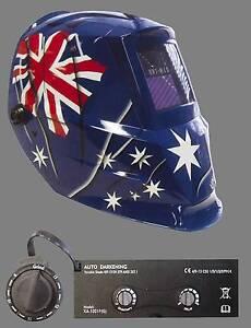 UNIMIG AUSTRALIAN FLAG WELDING HELMET ON SALE!!! Mirrabooka Stirling Area Preview