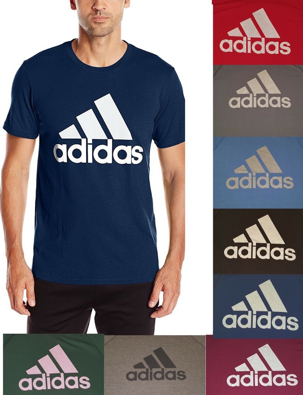 Adidas Mens Tee Performance Ultimate T-Shirt - Many Colors S