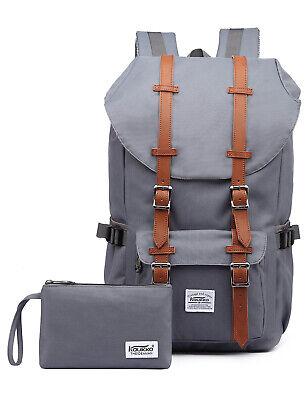 Rucksack Damen Herren Schulrucksack KAUKKO Laptop Backpack Lässiger