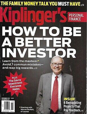 Kiplinger's Magazine Warren Buffett Better Investing Personal Finance