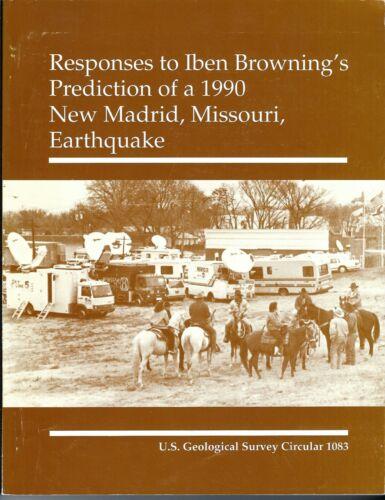 New Madrid Missouri Earthquake prediction responses 1990 geology circular