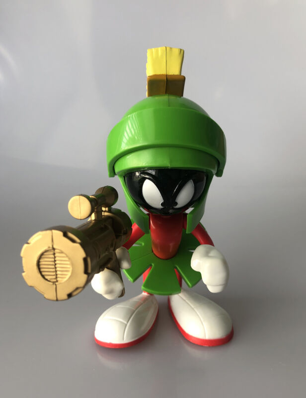 Vintage 1993 Marvin The Martian Talking Figure by Tyco