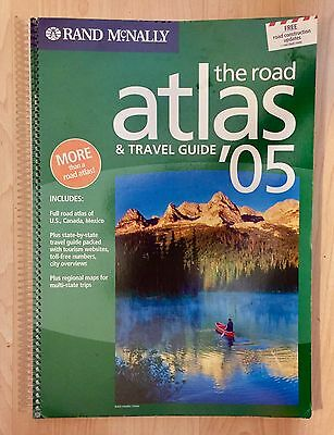 2005 Rand McNally, The Road Atlas & Travel Guide, United States, Canada, Mexico