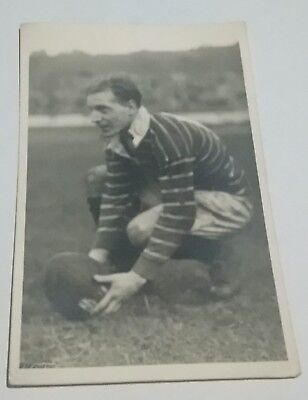 JEFF BAWDEN HUDDERSFIELD RUGBY LEAGUE ORIGINAL 1949 PHOTO 100th GOAL OF SEASON
