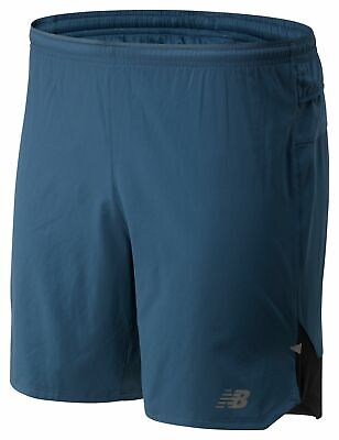 New Balance Men's Impact Run 7 Inch Short Blue