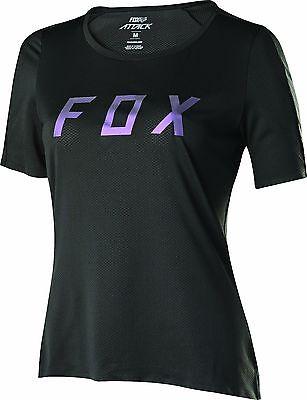 Fox Racing Womens Attack s/s Jersey Black Fox Attack Jersey