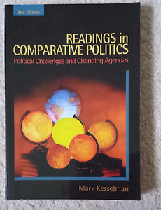 UWO Text - Readings in Comparative Politics (2nd Ed.) - NEW