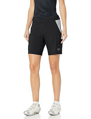 PEARL IZUMI Women's Canyon Shorts, Black/Monument Grey, Medium
