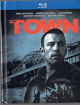 The Town  Blu Ray Dvd  2012  Ben Affleck  Jon Hamm  Blake Lively  Brand New