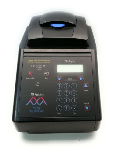 WARRANTY MJ Research PTC-200 PCR Thermal Cycler 96 Well BioRad Bio-Rad