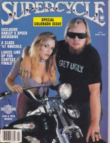 Supercycle Motorcycle Magazine APRIL 1982 APR
