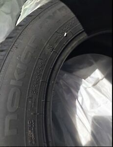 4 tires NOKIAN 225/60/18 LIKE NEW