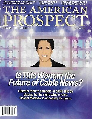 The American Prospect Magazine Rachel Maddow And Cable News Opportunity Race Gap