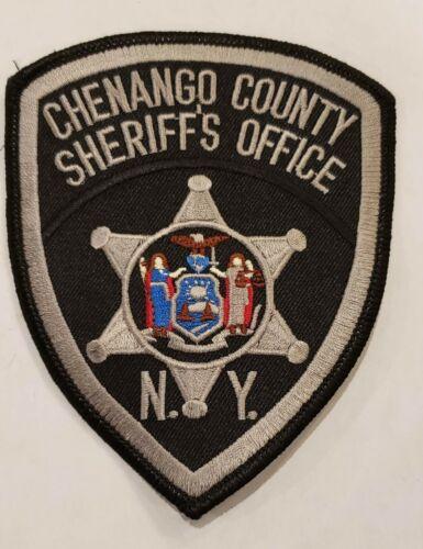 Chenango County Sheriffs Department NY New York Police Sheriff Patch