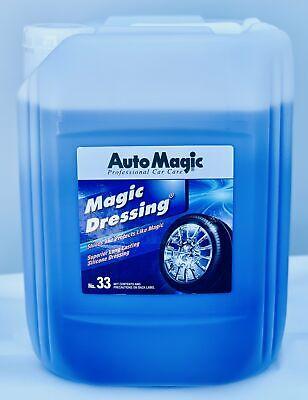 Magic Dressing - Superior Solvent-Based Silicone Tire & Exterior Dressing - 5 Ga