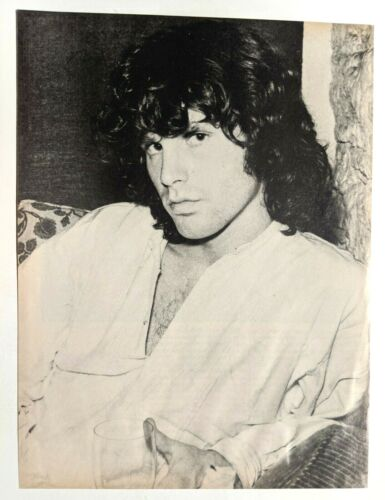 JIM MORRISON / THE DOORS / 1979 MAGAZINE FULL PAGE PINUP POSTER CLIPPING