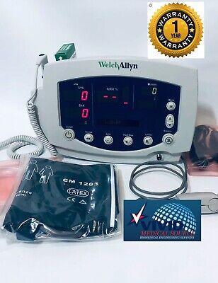 Welch Allyn 53st0 Vital Signs Nbp Spo2 New Accessories 1 Yr Warranty
