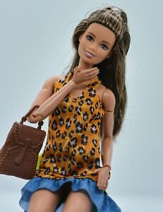 AA Barbie Doll Repaint Fashionista Made to Move Hybrid