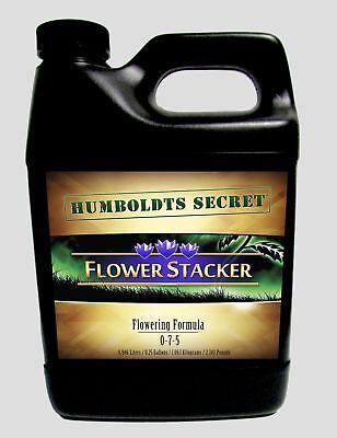 (Best Flowering Plant Food - Humboldts Secret Flower Stacker - Let Your Flowers)