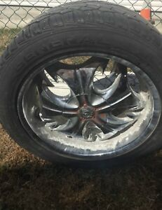 Tires and rims for sale to make your car or pick up look nice