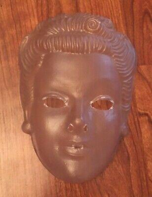 Creepy Clear Mask (Vintage & Unused Creepy Clear Halloween Costume Mask)