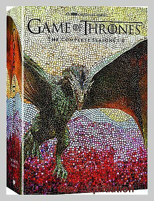 Game Of Thrones Complete  30 Disc  Dvd Series Collection 1 6 Season 1 2 3 4 5 6