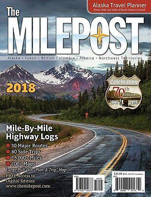 The Milepost 2018  Alaska Travel By Kristine Valencia  Paperback