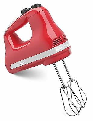 مضرب يدوي جديد KitchenAid KHM512WM 5-Speed Ultra Power Hand Mixer Watermelon
