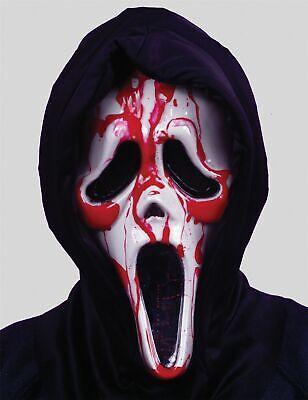 Halloween Scream Maske mit Herz Pumpe Blut Kostüm - Scream Kostüm Mit Blut