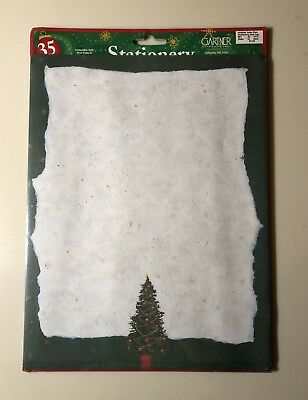 Gardner Traditional Tree Christmas Stocking Letterhead Copy Paper, 35 Count