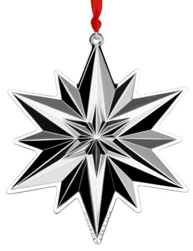 Gorham Annual Sterling Snowflake Ornament 2019 NIB