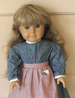 American Girl 18 Inch Kirsten Doll with Orig Outfit Pleasant Co Head Markings