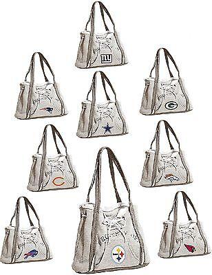 NFL Football Ladies Hoodie Purse Handbag - Pick Team