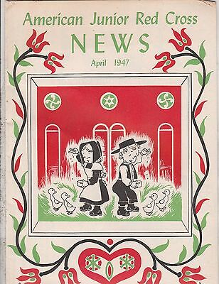 American Junior  Red Cross News 8 Issues 1947 1952