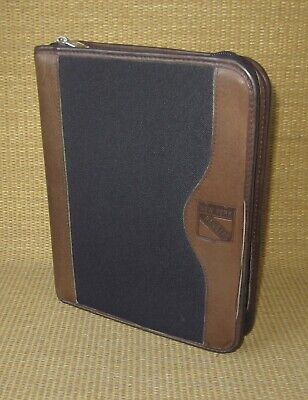 Classic 1.5 Rings Brown Leather Durable Franklin Covey Plannerbinder